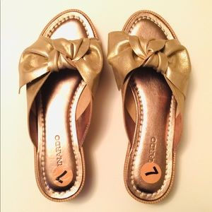 New Bernardo Petra Slide Sandals by Anthropologie